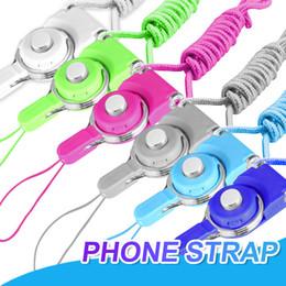 Handgelenkriemen lanyards online-Drehbarer abnehmbarer Ring Lanyard, der reizend Charme-Hals-Abzuglinie-Bügel-Handgelenk-Handabzugsleine für iPhone MP3 MP4-Blitz-Antrieb-Identifikations-Karte hängt