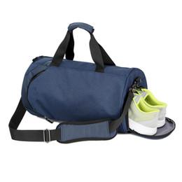 Waterproof Shoulder Sport Gym Bag Shoes Storage Women Fitness Yoga Training  Bags Men Gymnastic Crossbody Leisure travel Handbag 44e9885fbc6fc