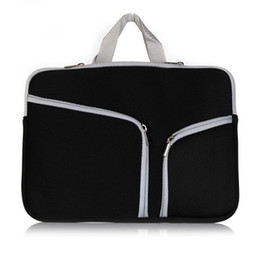 """Wholesale Pro Hands Free - Fasion Soft Zipper Liner Sleeve Hand Bag Case Cover Multiple Colour for Apple Macbook Air Pro 11'' 12'' 13"""" 15"""" Unisex Free DHL"""