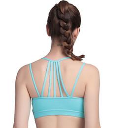 48116c6112 New Sports Bra Women Underwear Yoga Bra Absorb Sweat Padded Push Up Stretch  Vest Drying Seamless Sports Wear for Women Gym woman wearing vests  underwear ...