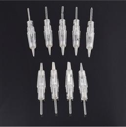 Wholesale Cartridge Gun - Individul Pack Cartridge Needles for KZ-MT027 Permanent Makeup Machine Sterile Accessories for PMU Gun Needles Tip on Sale Free Shipping
