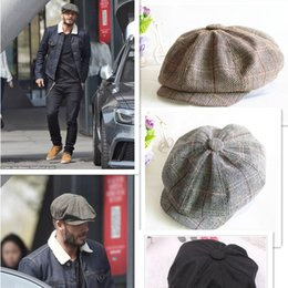 Wholesale Male Models Cap - Octagonal Cap Fishing Caps Autumn and Winter Hats for Men 'S International Superstar Jason Statham Male Models Outdoor