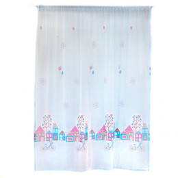 Wholesale living room valance curtains - Curtain bedroom Living room High Quality House Color Silk Window Curtain Drape Panel Sheer Scarf Valances Drop shipping June6