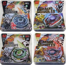 Wholesale Wholesale Bangs - 20Pcs Free DHL or SF-Express31 Style BIG BANG PEGASUS BEYBLADE 4D TOP METAL FUSION FIGHT MASTER NEW + LAUNCHER USA BB105