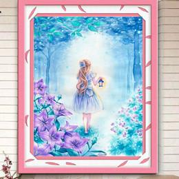 Новый шаблон 5D алмазы окрашенные алмазы вышивка мультфильм девушка полный Stick дрель крест вышивка рисунок декорации Гостиная Спальня боль от
