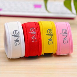 Wholesale mosquito green - Green Luck Anti Mosquito Pure Color Baby Band Bracelets Natural Novelty Pregnant Woman Adult Wristband New Arrival 8bn Y