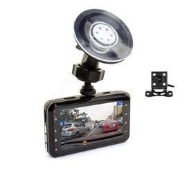 Wholesale Digital Camera For Vehicle - 2Ch 1080P car video recorder full HD dual cams vehicle driving digital camcorder 170° view angle car DVR for BMW Bens Audi