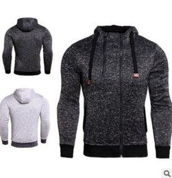5cd7f9732 Mens casaco outono novo zip double camisola dos esportes dos homens top  curto com capuz casaco de lã com capuz jaqueta casual blusas de pelúcia  barato