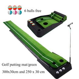 Golf-Übungsmatte für Kinder mit Indoor-Golf-Putting-Matte für Erwachsene von Fabrikanten