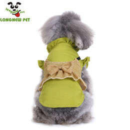 Wholesale clothes for dogs girl small - 2018 New Fashion Pet Clothing Puppy Spring Summer Girl Dog Dresses Pet Supplies Pet Clothes For Small Dogs Two Colors
