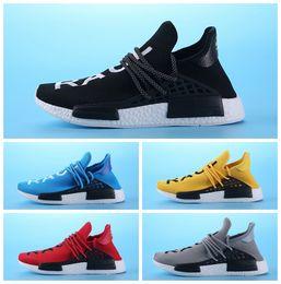 "Wholesale green slip shoes - 2018 Cheap Wholesale NMD ""HUMAN RACE"" Pharrell Williams x 2016 Men's & Women's Discount Cheap Fashion Sport Shoes Free Ship"