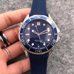 2019 relojes antiguos pulsera pulsera Marca de lujo de calidad superior mar master 007 james mens watch siete estilo 42mm dial relojes de movimiento automático reloj masculino AAA