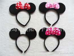 Wholesale Party Supplies Children - Children ears headband girl boy Hair Sticks kids birthday party supplies decorations A038