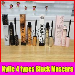 Wholesale Long Lashes Mascara - Kylie i want it all thick slim pink mascara kylie Black Eye Mascara Long Eyelash Eyes Cosmetics Makeup Black Lash holiday Volume Mascara