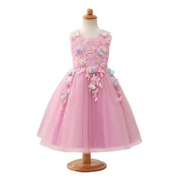 MAGGIEISAMAZING Оптовая jewel кружевном платье без рукавов подвергается обвалки дешевые цветочные платья для девочек с длиной чая CYH0000HT19 от