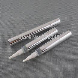 Wholesale Whitening Lip Gloss - 5ml silver cosmetic pen for lip gloss cream  mascara Eyelash growth liquid  teeth whitening tube or cosmetic pen