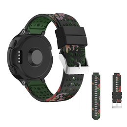 Wholesale Forerunner Garmin - Soft Silicone Strap For Garmin Forerunner 220 230 235 620 630 735xt Sport Replacement Watch Bands For Garmin