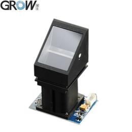 Scanner biométrico de impressões digitais on-line-GROW R305 Fabricação Optical Biometric Fingerprint Access Control Módulo Sensor de Scanner Leitor De Scanner Com Capacidade de Armazenamento de 980