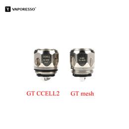 gt vaporizer 2018 - 3pcs lot Vaporesso GT CCELL2 Coil Head 0.3 ohm GT mesh Coil Core 0.18 ohm For Vaporesso Polar Vape Cascade One Plus Vaporizer