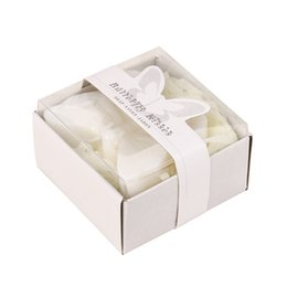Forma de mini jabón online-2018 caliente romántico creativo forma de mariposa favores de la boda nupcial regalo del partido mini baño de ducha perfumado jabón regalo de boda