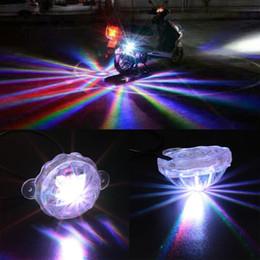 2019 motorradlampen leuchten Universal-LED-Auto-Motorrad-Chassis-Rücklicht LED-Laser-Nebelscheinwerfer-Rücklicht Anti-Fog-Parkstopp-Bremswarnlampe mit Kleinpaket rabatt motorradlampen leuchten