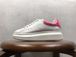 Wholesale summer dress tennis - Cheapest Luxury Designer Brand Mens Women Comfort Casual Shoes Classic Oxford Full Grain Mc Leather Shoe Dress Shoe Sports Tennis Sneakers