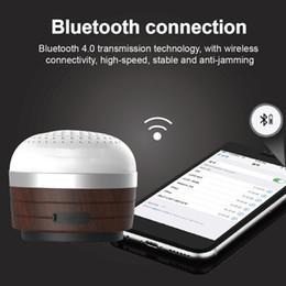 Canada En bois Bluetooth Haut-Parleur Mini Camping Lumière Multi-Fonction Lumière d'urgence Tente Extérieure Lampe Lecteur de Musique cheap multi bluetooth speakers Offre