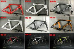 Wholesale Bikes Carbon Fiber - 2018 Carbon Road Frame Cipollini RB1K THE ONE Anthracite Shiny RB1000 T1100 carbon fiber road bike bicycle frame set