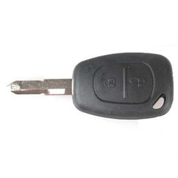 Wholesale keyless entry remote start alarm - 2 Buttons Replacement StartKeyless Entry Remote Key Fob for Car VAUXHALL VIVARO MOVANO RENAULT TRAFIC MASTER