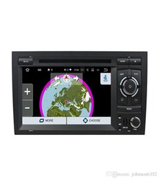 Wholesale 3g Android Car Stereo - 2 Din 7'' Android 8.0 Octa Core Radio Car DVD Player for Audi A4 B6 B7 S4 B7 B6 RS4 2002-2008 RS4 B7 SEAT Exeo 2008-2012 Canbus 3G