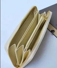 Wholesale brand folder - Brand hot men's and women's holding a purse single zipper banknotes folder card wallet clutch bag no box 4 color
