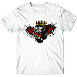 Wholesale Tattoo Tees - Orangutan tattoo t shirt Conor McGregor crown wing short sleeve gown Wrestling sport tees Unisex clothing Quality modal Tshirt
