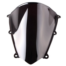 Wholesale cbr plastics - ALLGT Smoke Windshield Windscreen Fit Honda CBR 600RR F5 2007 2008 2009 2010 2011 Black 07 08 09 10 11 ABS Plastic