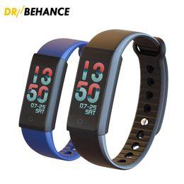 Wholesale Heart Rate Woman - 50pcs Smart Wristband X6S Smart Bracelets Women Men Heart Rate Monitor Bluetooth Smartband Pedometer best Sports Fitness Band Tracker