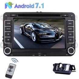 Cámara trasera + Android 7.1 Octa Core Radio del coche DVD del coche Navegación GPS para VW Jetta Passat Golf Bora Tiguan Polo Touran Skoda desde fabricantes