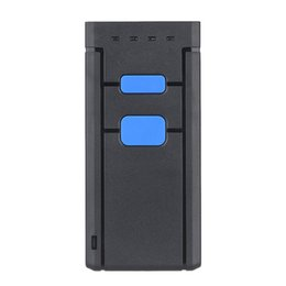 Wholesale Mini Wireless Scanner - Mini Wireless Bluetooth Barcode Scanners Barcode Scanners CCD Reader Portable Wireless One Size Red Light