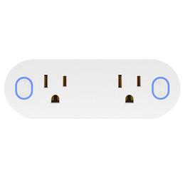 Canada Mini US Plug 16A Smart WiFi Interrupteur Sans Fil Minuterie Prise De Puissance Prise Télécommande Économie D'énergie Commande Vocale XNC Offre