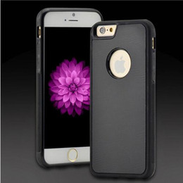 Couverture arrière iphone en Ligne-Étui anti-gravité pour iPhone X 8 7 Plus 6s et 6 SE 5s Étui pour téléphone Fit Hands Free Nano-Aspiration Absorbé Téléphone Couverture Arrière sacs