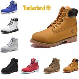 aa40d2251a2 Designer Timberland botas Homens Mulheres Botas de Inverno amarelo preto  Tênis TBL Mens Womens Casual ao ar livre Sapatos Formadores de luxo tamanho  de ...