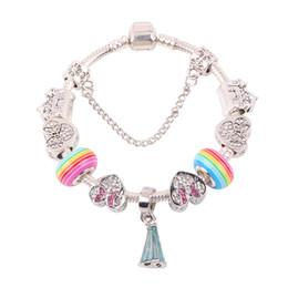 37057672f5f4 Couqcy regalo de alta calidad Rainbow Glass Beads Series DIY conveniente  para las mujeres pulsera moda europea de la joyería de moda caliente venta  Ofertas ...