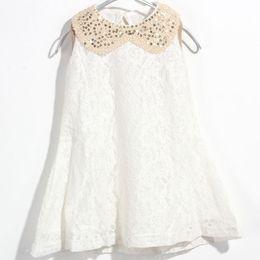 Wholesale White Skirts For Girls - Summer dress girls summer children's wear dress summer children's wear children's skirt fashion dress for kids V 001
