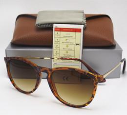 Wholesale leopard wraps - 1PCS High Quality Fashion Sunglasses For Mens Womens Eyewear Designer Sun Glasses Matt Leopard Gradient 52mm Lenses With Brown Boxes