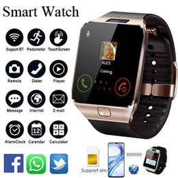 телефон для сообщений Скидка Smart Watch DZ09 с Слотом для SIM-карты Push-сообщение Bluetooth-соединение Android-телефон лучше, чем другие Smartwatch Мужские часы