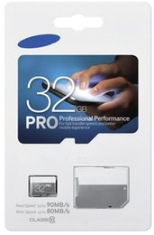Wholesale micro sd memory card classes - 100% REAL EVO PRO 128GB 64GB 32GB 16GB 8GB Micro SD Card SDXC SDHC TF Memory Card C10 Class 10 EVO+ UHS-I Card with Adapter Retail Package