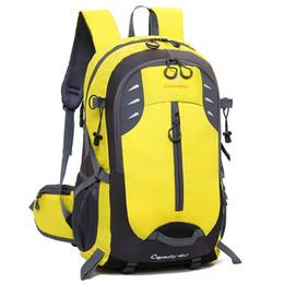 Wholesale Back Bags Men - Fashion Sport Outdoor Backpack Men Women Leather Bags Brand Designer Back Packs Bag Embroidered Backpacks Ladies Bags Cheap Sale