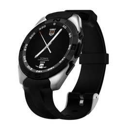 Monitores cool on-line-G5 homens bluetooth smart watch esporte android relógio de pulso heart rate monitor pedômetro rastreador pulseira inteligente fresco