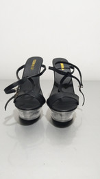 Wholesale High Heels Pole - Elegant Design Ankle Strap 14CM High Heel Platforms Pole Dance   Performance   Star Model Shoes, Wedding Shoes