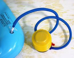Canada 4 pouces pied presse air remplissage pompe pour natation anneau gonflable poupée matelas canapé piscine accessoires air natation jouets Offre