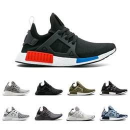 72807dc4f NVD Olive OG XR1 Running Shoes Mastermind Japão Crânio Queda verde Camo  Glitch Preto Branco Azul zebra Pack homens Sneaker calçados esportivos 36-45