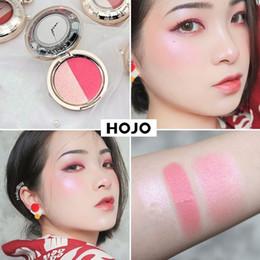 Creme wange online-Neue Rouge Taschenuhr Rouge Palette Süße Charmante Wange 2 Farben Mineral Blush Gesicht Foundation Contour Make-up Creme Pulver